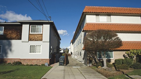 Apartments in Alameda are now covered by just-cause eviction protections. - PHOTO BY CHRIS DUFFEY