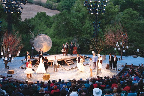 An evening of theater under the stars is a great thing. - PHOTO BY JAY YAMADA