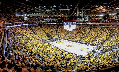 Something you may not ever see again: The Golden State Warriors at Oracle Arena. - BRYCE EDWARDS - CC