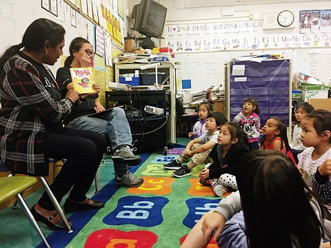 From health fairs to school read-ins, the company reaches out to Oakland - BLUE SHIELD OF CALIFORNIA
