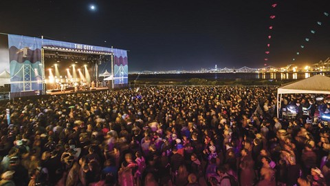 The Treasure Island Music Festival will not return this year to Middle Harbor Shoreline Park. - PHOTO BY JOSH WITHERS