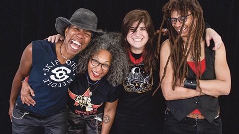 Kofy Brown, Vicki Randle, Katie Cash, and Shelly Doty are Skip the Needle. - PHOTO COURTESY OF SKIP THE NEEDLE