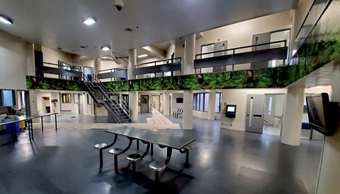 The county's new behavioral health unit is designed with at-risk inmates in mind. - PHOTO COURTESY OF CONTRA COSTA COUNTY SHERIFF'S OFFICE