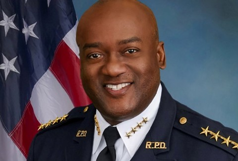 Allwyn Brown is out as Richmond police chief. - RICHMOND PD