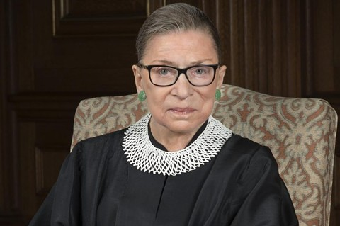 Supreme Court Justice Ruth Bader Ginsburg assured guests in Berkeley that her health is good. - WIKIMEDIA COMMONS