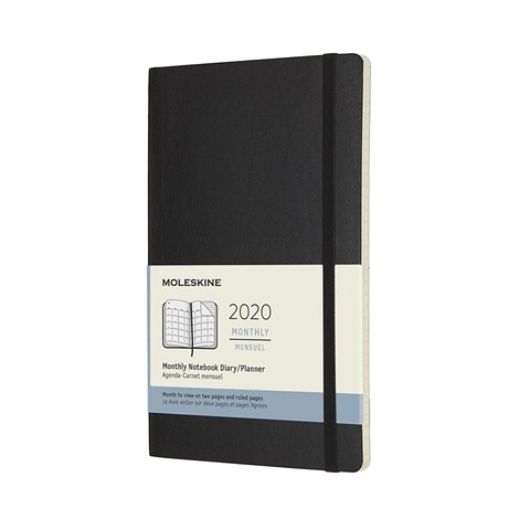 The Moleskine Planner.