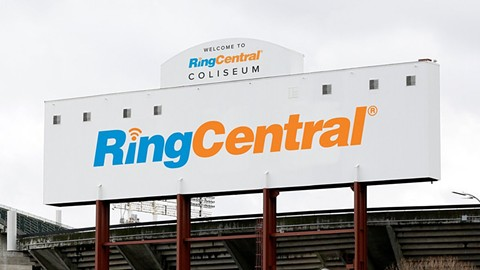 Former Coliseum JPA CEO Scott McKibben illegally sought a fee from RingCentral to negotiate naming-rights at the Coliseum, Alameda County prosecutors allege. - @RINGCENRAL/TWITTER