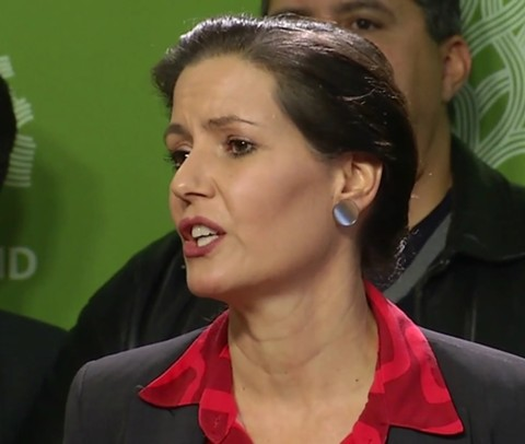 Mayor Libby Schaaf warned ICE agents to stay away from Oakland. - FILE PHOTO