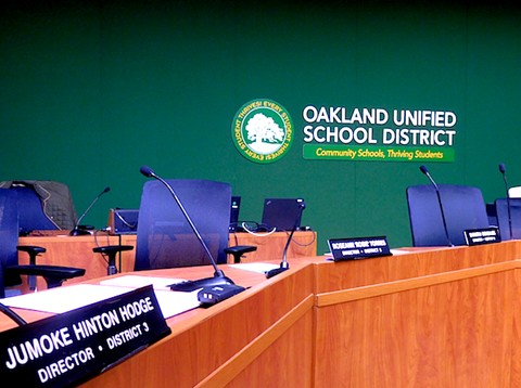 The move by OUSD officials on Wednesday includes layoffs to staff. - FILE PHOTO