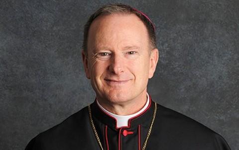 Bishop of Oakland Rev. Michael Barber. - FILE PHOTO
