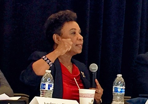 Rep. Barbara Lee - STEVEN TAVARES