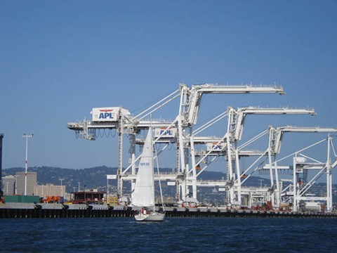 Port of Oakland. - FILE PHOTO
