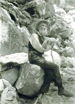 FOUNDER: John Muir, seen here in 1907, founded the Sierra Club, a prominent conservation organization. - FILE PHOTO