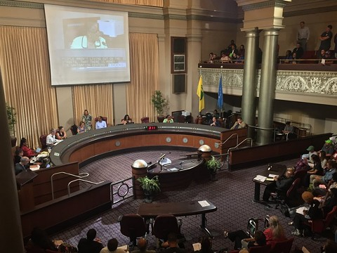 The allegations against California Waste Solutions could be a November election bombshell for three incumbent Oakland councilmembers seeking re-election this fall. - FILE PHOTO