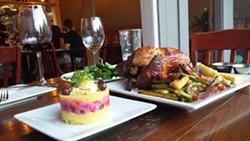 Chicken served the Peruvian way (via Facebook).
