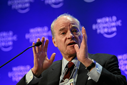 Henry Kravis, co-founder of the KKR private equity firm. - WORLD ECONOMIC FORUM