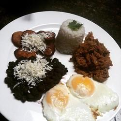 Venezuelan food at Cafe V (via Facebook).