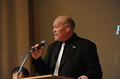 UFCW organizer Dan Rush. - VIA FACEBOOK