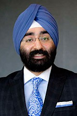 UC Chief Investment Office Jagdeep Singh Bachher. - UNIVERSITY OF CALIFORNIA