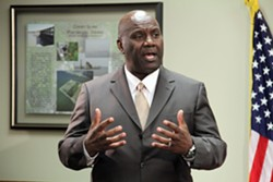 Terminal Logistics Solutions president and CEO Jerry Bridges. - US ARMY CORPS OF ENGINEERS