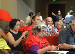 Former Oakland Mayor Jean Quan among opponents of the coal export plan. - DARWIN BONDGRAHAM
