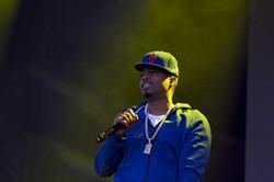 Nas performs during the Bay Area Vibez Festival. - ERIN BALDASSARI