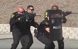 A still image from an Oakland Housing Authority police recruitment video. - OAKLAND HOUSING AUTHORITY
