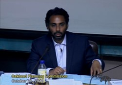 Planning commission chair Adhi Nagraj