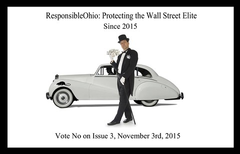 ResponsibleOhio faces attacks from the political right and the left (above) before Election Day. - CITIZENS AGAINST RESPONSIBLE OHIO