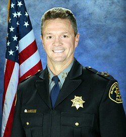 Alameda County Sheriff Gregory Ahern.