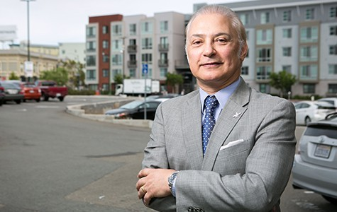 Developer Sid Afshar plans to build a new public parking garage at 1800 San Pablo. - BERT JOHNSON / FILE PHOTO