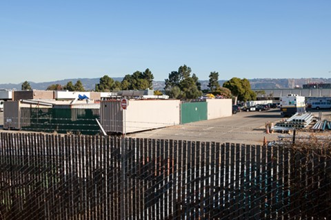 In a recent inspection, the new county-run CUPA found numerous safety violations at Oakland's maintenance and storage yard on Edgewater Drive in East Oakland. - BERT JOHNSON
