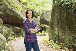Rhea Suh is president of the Natural Resources Defense Council. - REBECCA GREENFIELD