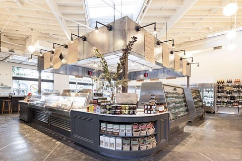 An interior shot of Grand Fare from the eatery's Facebook page.