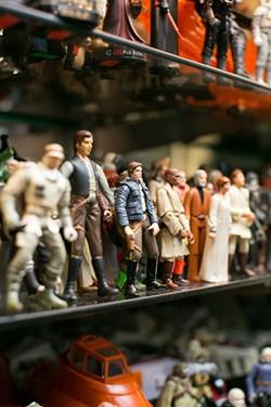 Vintage Star Wars action figures at Toy Safari. - BERT JOHNSON