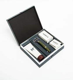 The Truman Shaving Kit ($20) from Welcome Stranger.