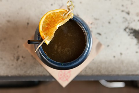 A seasonal drink from East Bay Spice Company. - BERT JOHNSON