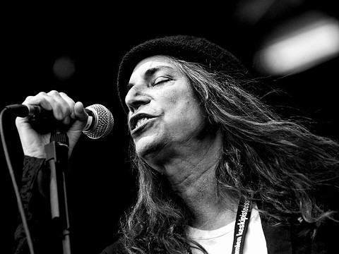 Patti Smith will play the Fillmore on December 29, 30, and 31.