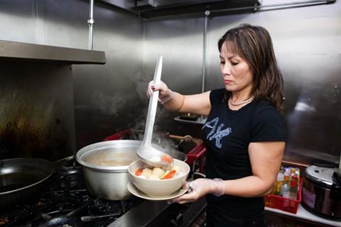 Kim Thuy Do is the heart and soul of the restaurant. - BERT JOHNSON