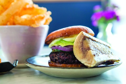 A Kronnerburger with a side of marrow. - BERT JOHNSON/FILE PHOTO
