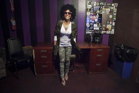 DJ Leydis was one of Cuba's first female DJs. - ERIN BALDASSARI