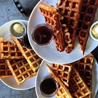 Waffles at Hog's Apothecary (via Facebook).