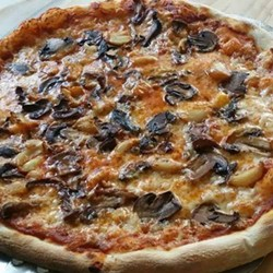 The 'Shroom pizza at Buma's (via Facebook).