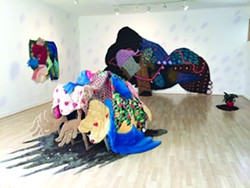 The work of Maria Guzmán Capron.