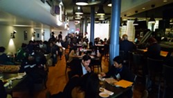 A training session at the Colors restaurant in New York. - ROC UNITED