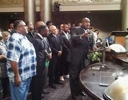 Pastor Kevin Barnes. - DARWIN BONDGRAHAM