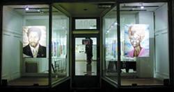 Exterior installation view. - COURTESY JOYCE GORDON
