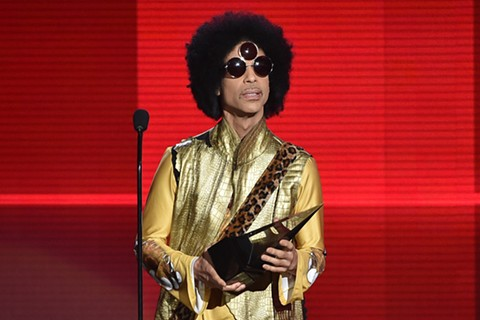Prince at the 2015 American Music Awards. - KEVIN WINTER/GETTY IMAGES