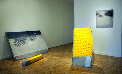 An installation view of Guide Me - Paradise. - COURTESY JOHANSSON PROJECTS.