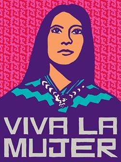 A poster by Dignidad Rebelde (Oakland's Jesus Barraza and Melanie Cervantes) in Take This Hammer. - COURTESY DIGNIDAD REBELDE